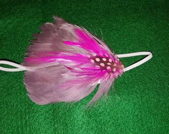 Feather headband size newborn