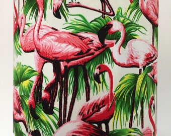 Fantastic Flamingoes lampshade.