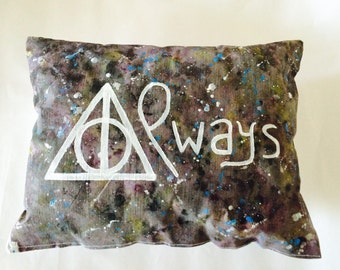 "Harry Potter Snape ""Always"" cushion"