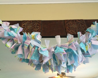 Easter decor; party decoration; photo prop; fabric banners; bunting
