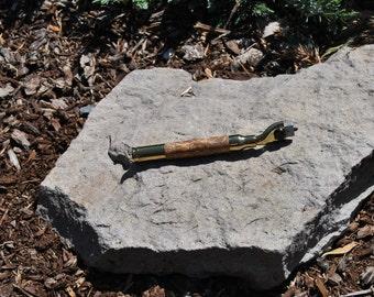 Handcrafted Bubinga Wood Magnum Razor Handle