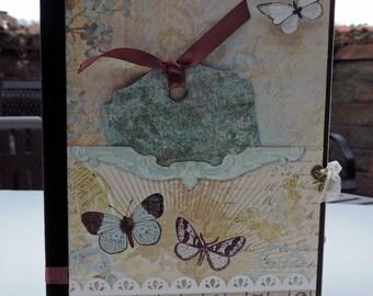 Flora: A File Folder Mini Album