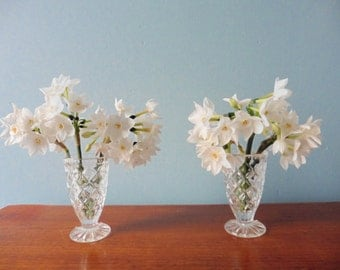 Two Vintage Bud Vases