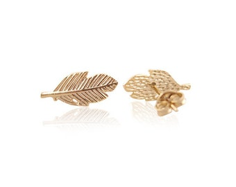 Earrings spring gold free shipping