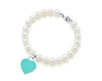 Handmade Friendship Bracelet turquoise beads
