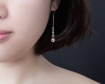 Bubble Sterling Silver Earrings