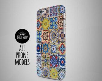 Samsung Galaxy Note 8 Case Portugal Tiles Morocco iPhone X Case iPhone 7 Plus Case iPhone 8 Case Azulejos iPhone 8 Plus Case Birthday Idea