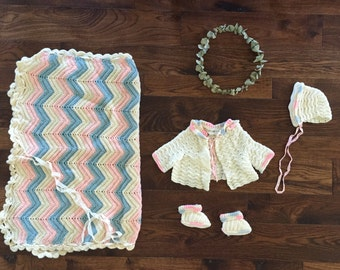 Baby Outfit and Blanket