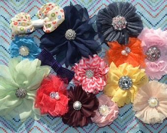 Baby Hair clip grab bag, Baby hair clip variety pack, toddler hair clips, newborn hair clips, child hair clips, sparkling hair clips