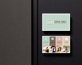 Custom Made Photography Business card | Made to individual order