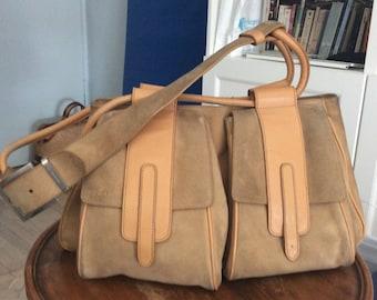 HOGAN for Tod's suede bag