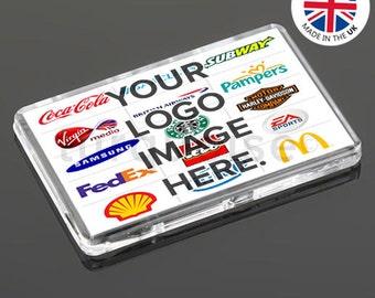 Personalised Promotional Custom Business Fridge Magnets 70 x 45 mm | Large