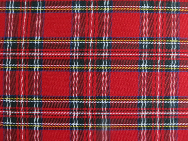 Royal Stewart Tartan Scottish Tartan Fabric By SenseOfCotton