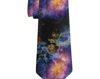 Galaxy All Over Neck Tie