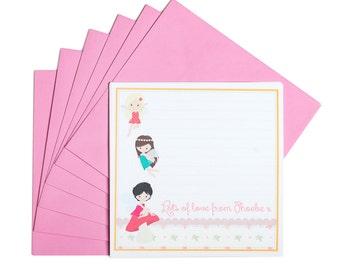 Personalised Fairy Notecards