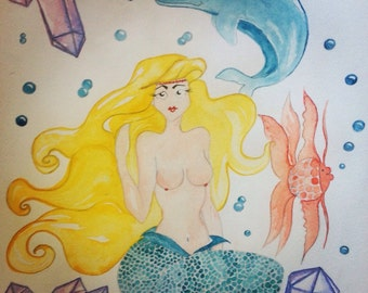 Crystal Mermaid Goddess