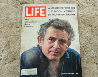 Vintage LIFE magazine! August 29, 1969 issue, Norman Mailer and Woodstock Featured