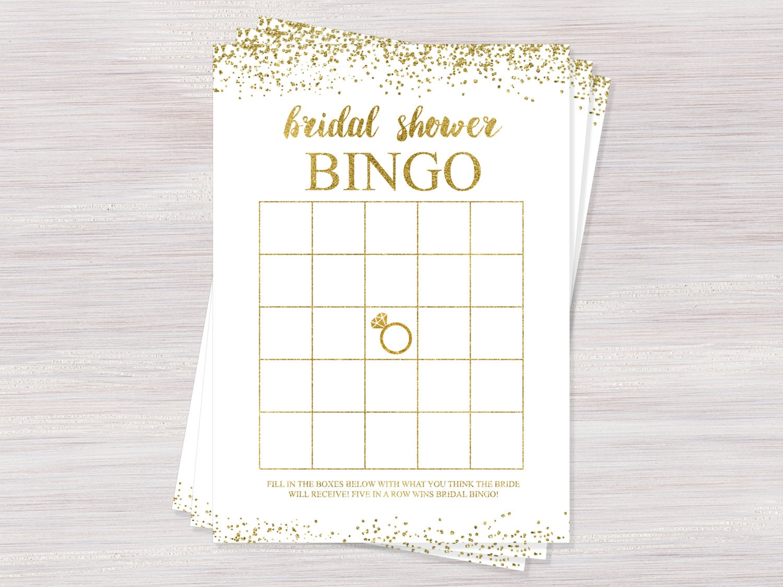 Breathtaking image intended for printable bridal shower bingo