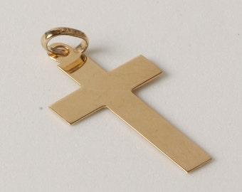 Elongated cross gold