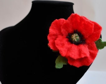 Red  poppy. A gift for a woman. A gift for Mother's Day!