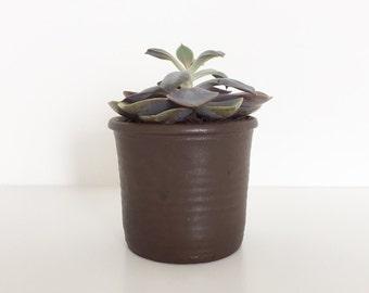 Vintage planter   Vintage ceramic pot   Succulent planter   Pencil holder   Cactus planter   Vintage pottery   The Hague pottery   Seventies