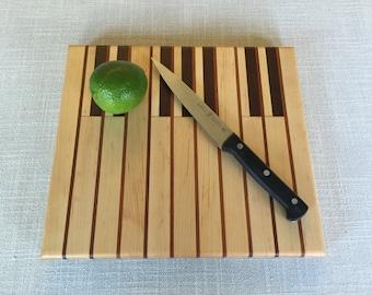 Piano keys cutting board