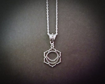 Sacral Chakra Beautiful Pendant Necklace Inspired By Chakra Healing.