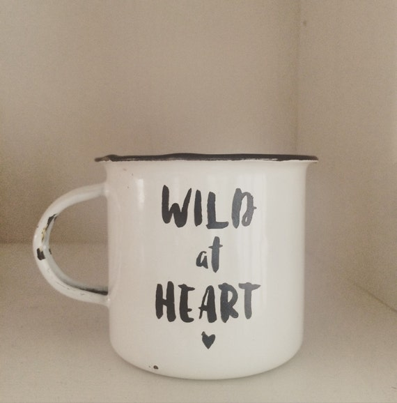 Wild at Heart Enamel Mug