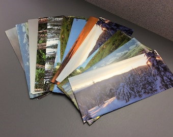 Envelopes, stationery, recycled paper, calendars, letters, mail