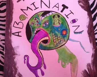 THE ABOMINATION | A Painting