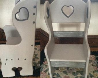 Child Heart Chair