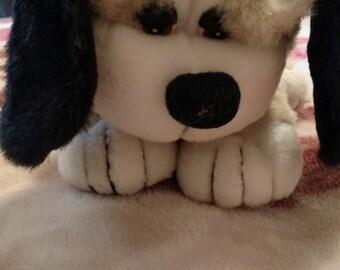 Vintage Little Stuffed Floppy Puppy