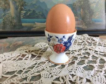 SALE REDUCED! Vintage egg cup, marked, Crown Staffs England, Porcelain