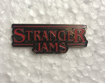 Stranger Jams Stranger Things pin electric forest SCI STS9 lotus UM PL Grateful Dead Phish Disco Biscuits hat art Bassnectar