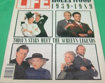 Life Magazine Spring 1989 - Special Issue Hollywood 1939-1989