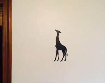 Giraffe Silhouette Wall Decal