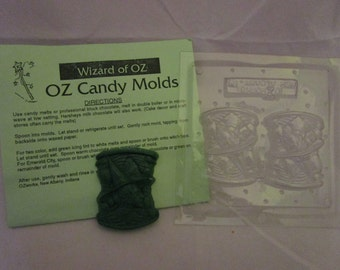 Wizard of Oz Candy Mold Wicked Witch