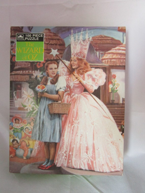 Wizard of Oz Glinda and Dorothy Puzzle