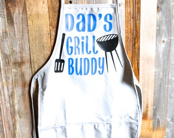 Dad's Grill Buddy-Childs Apron