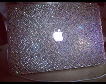 Pro 13 Macbook Case -Crystal AB-Macbook Shell Top Case Bottom Case W/Keyboard Cover & Dust Plug