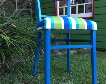 Beautiful blue chair