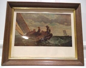 Winslow Homer, Breezing Up Print (A Fair Wind), 1873-1876