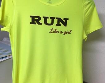 Run Like A Girl top