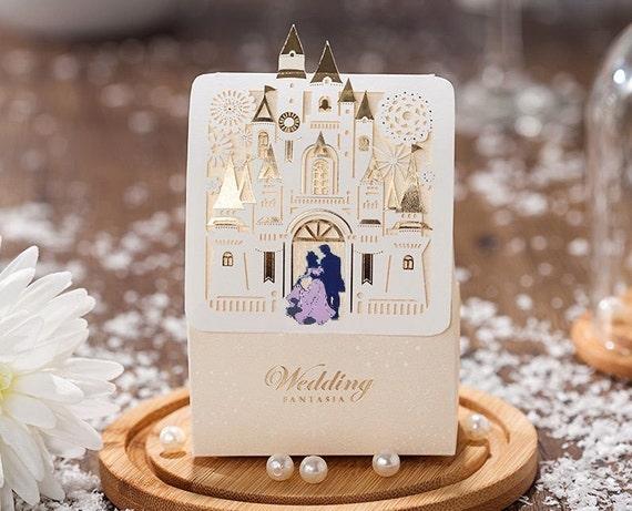 Disney Wedding Candy Gift Favor Boxes Sleeping Beauty Aurora