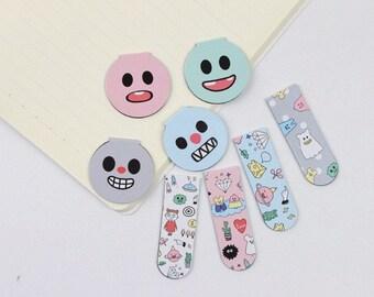 Kawaii Magnetic Bookmarks (Set of 2)