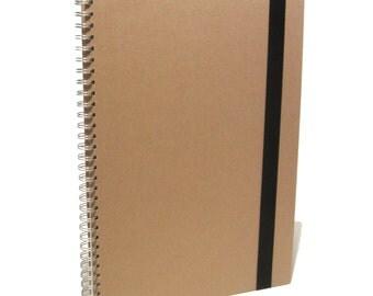 A3 Large Portrait Scrapbook, Photo Album, Memory Book, Journal, Project, Kraft