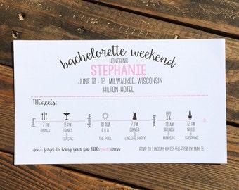 Bachelorette Weekend Getaway