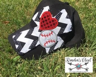 Baseball/Softball Love Hat