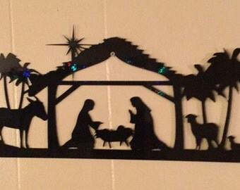 Nativity scene 20 x 11
