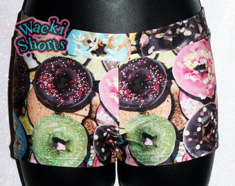 DONUTS - Wacki Shorts  - Cheer, Gymnastics, Yoga, Dance